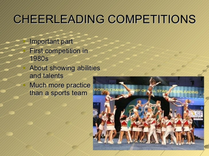 an analysis of cheerleading is it a sport Cheerleading is a legitimate sport involving the integration of chants,  the files were analyzed if the chirpp factor code mentioned the code.