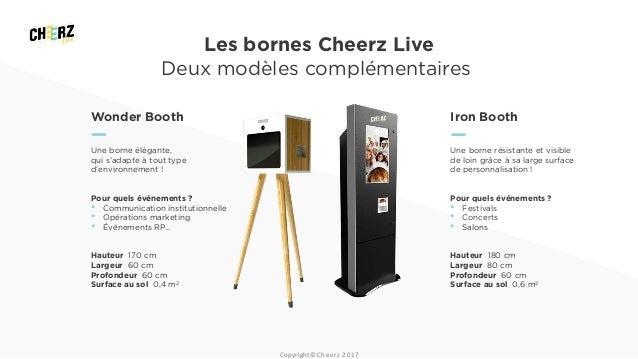 Surréaliste Cheerz Live - Bornes et animations photos LM-28