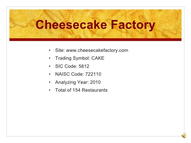 Cheesecake Factory provides medical, pharmacy, and vision coverage as well as life and disability insurance to employees and their eligible family members. Flexible Spending Accounts are available to Cheesecake Factory employees for health care and dependent care expenses /5(37).