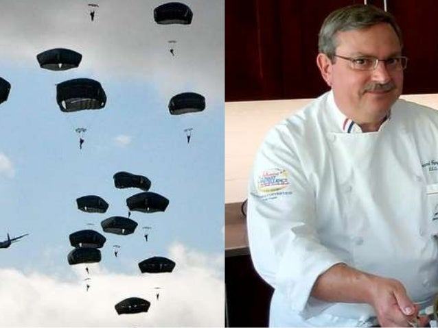 This is paratrooper-chef