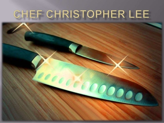 Chef christopher lee foods