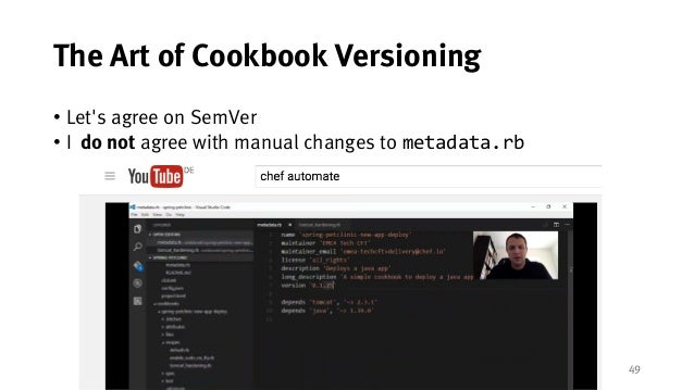 An Open-Source Chef Cookbook CI/CD Implementation Using