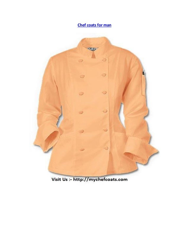 Chef coats for man
