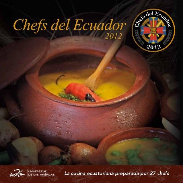 Chef del ecuador