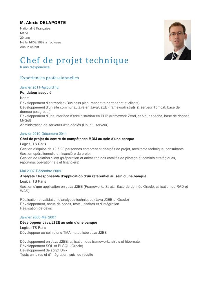 Favorit CV - Chef de projet technique ON28