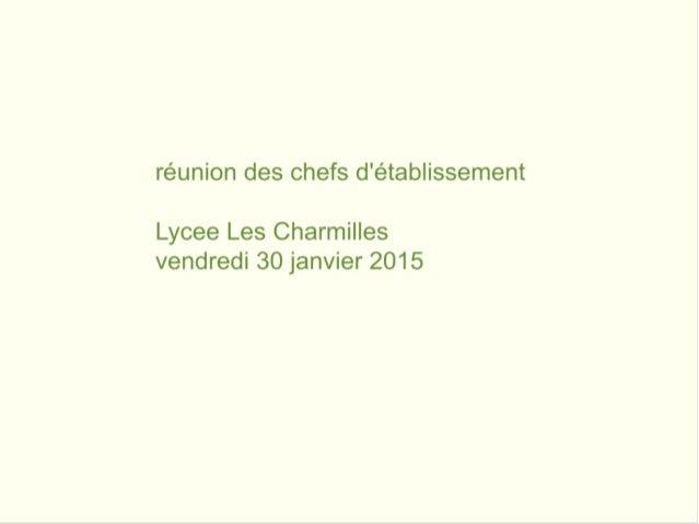"""réunion """"tablettes numériques"""" chefs d'établissement de l'Indre (36)"""