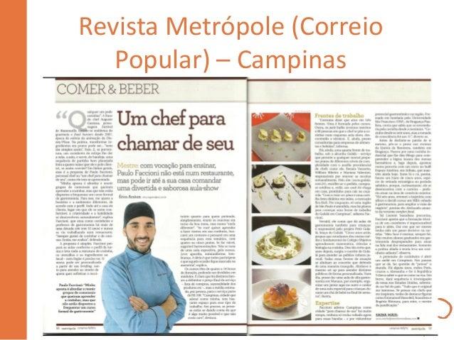 Revista Metrópole (Correio Popular) – Campinas