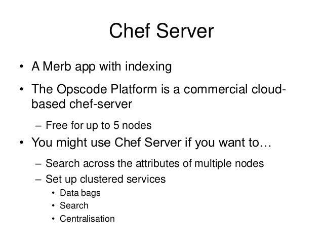 Installing Chef Server, Workstation & Node - Creating ...