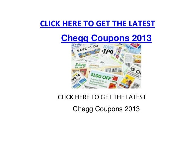 3 verified Chegg coupons and promo codes as of Dec 2. Popular now: Get a Free Trial when you Sign Up to a Monthly or Annual Subscription. Trust a3rfaktar.ml for Textbooks savings.