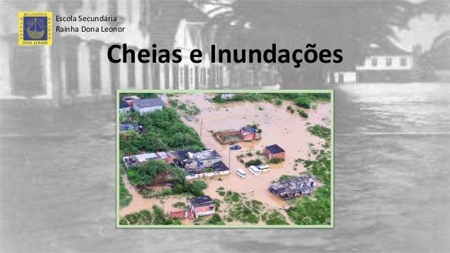Cheias e Inundações Escola Secundária Rainha Dona Leonor