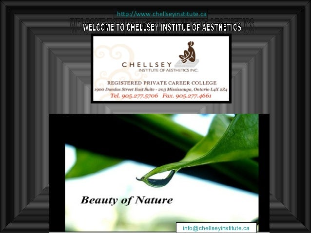 http://www.chellseyinstitute.ca                      info@chellseyinstitute.ca