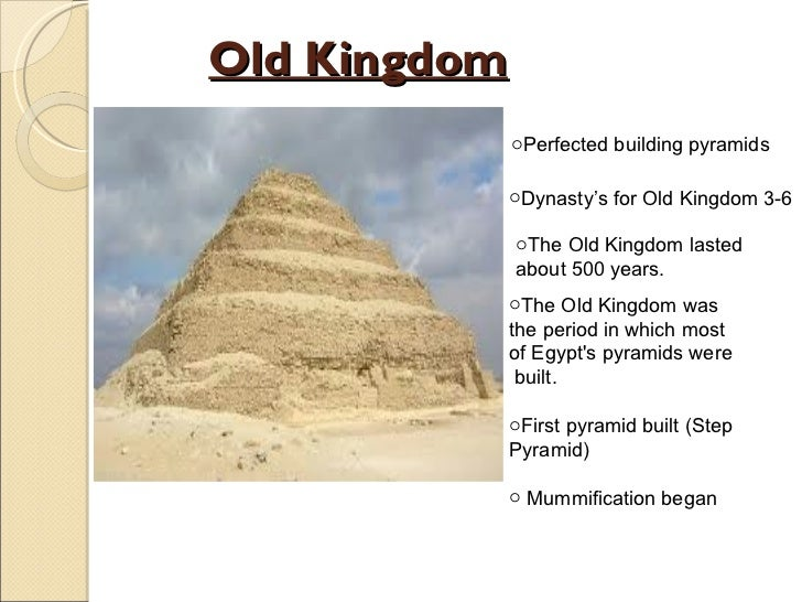 the building of the djosers monument which started the old kingdom This essay ancient egypt and other 64,000+ term papers,  the start of the old kingdom is said to be the building of the djoser's monument the construction of step pyramid of pharaoh djoser began around 2630 bc.