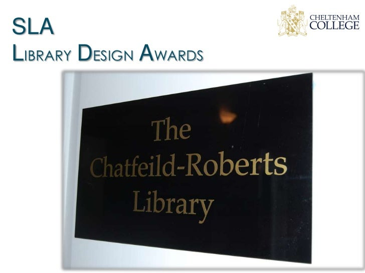 SLALIBRARY DESIGN AWARDS