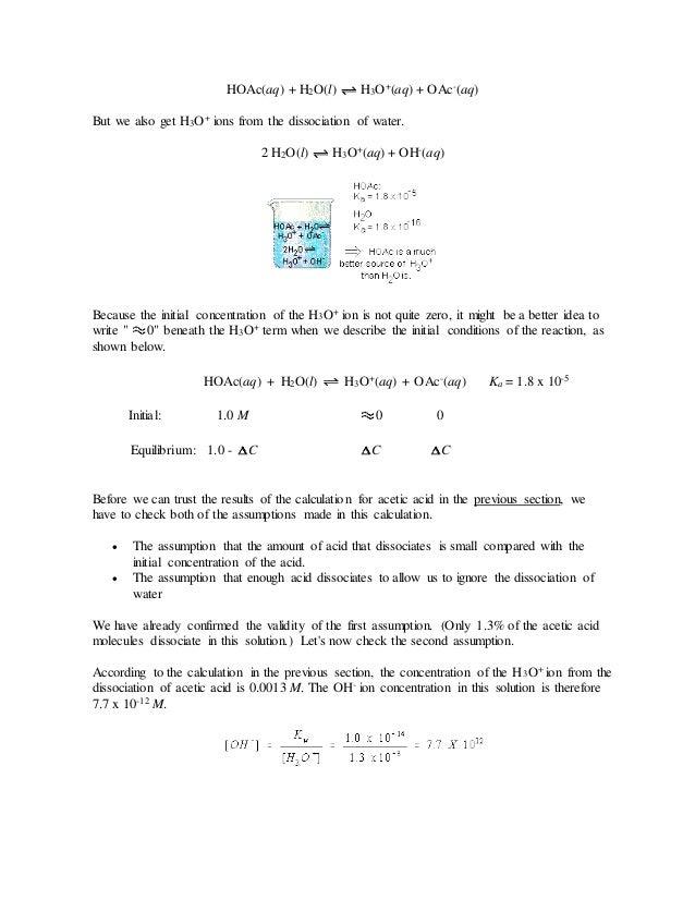 Chem 116 qualitative chemistry problem set
