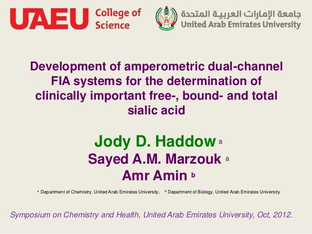 Development of amperometric dual-channel         FIA systems for the determination of      clinically important free-, bou...