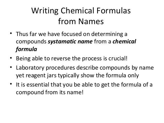 Chem 101 week 4