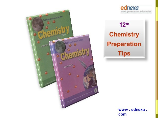 12th Chemistry Book