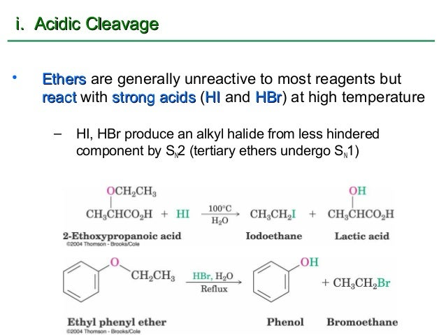 Chem 2425 Chap 18 Notes