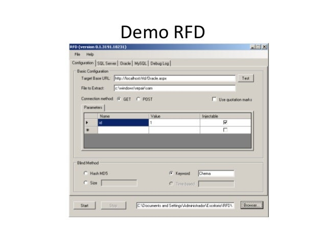 Demo RFD