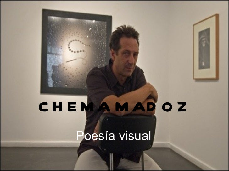 CHEMA MADOZ Poesía visual