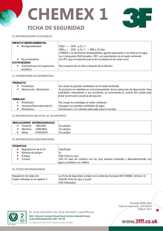 Chemex1 msds s Slide 3