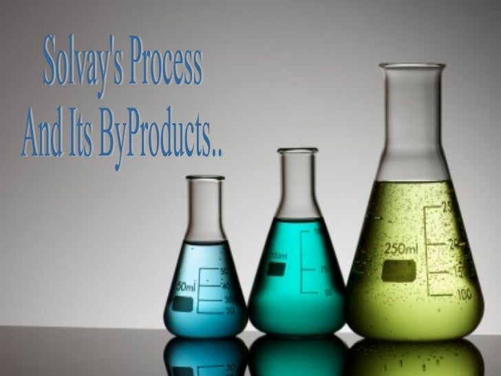 • The Solvay process, also  referred to as the ammonia-  soda process, is the major  industrial process for the  productio...