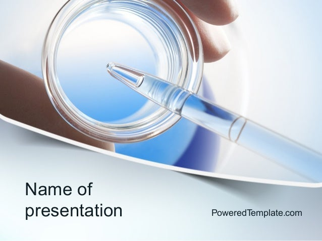 chemical analysis powerpoint template by poweredtemplatecom