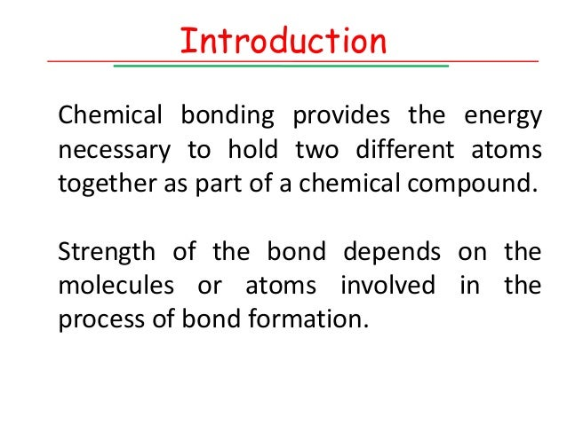 importance of chemical bonding In chemistry, resonance or mesomerism is a way of describing delocalized electrons within certain molecules or polyatomic ions where the bonding cannot be expressed.