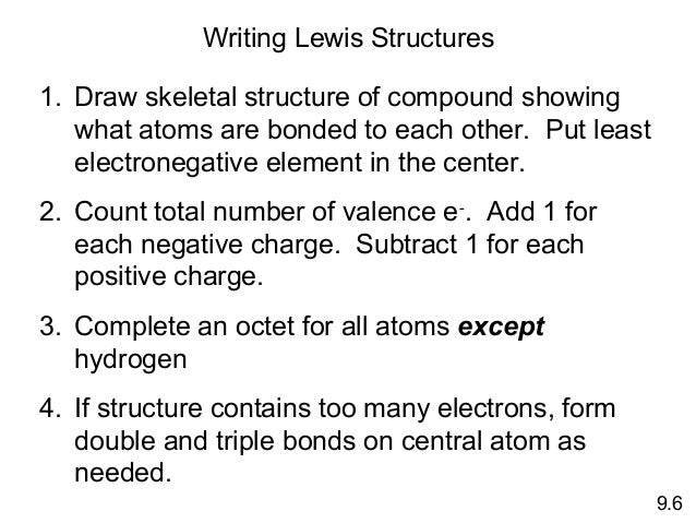 Chemical Bonding - Basic Concepts H2cnh2 Lewis Structure