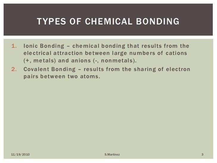Chemical Bonding Chapter 6