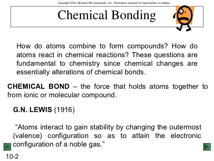 Chemical bonding part 1 (chem 11)