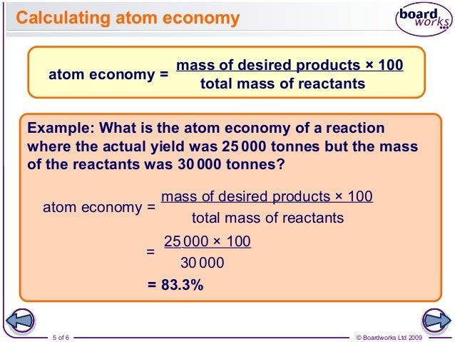 Green chemistry.