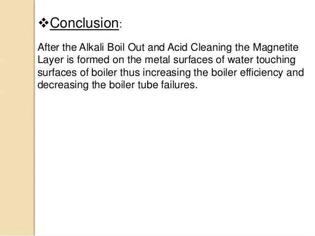 Chemical Cleaning Of Boiler In A Thermal Power Plant