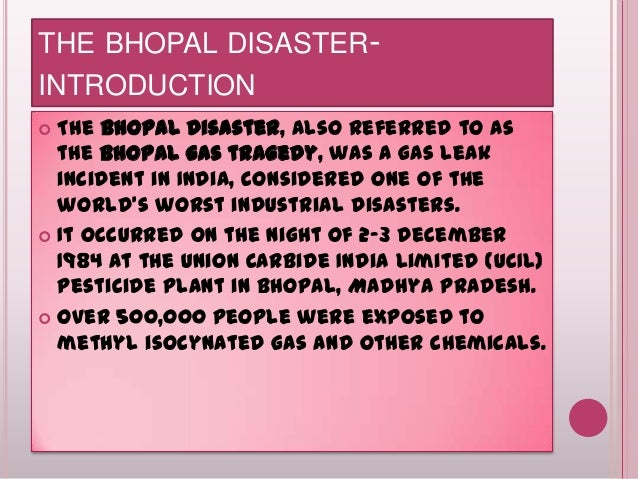 a review of the december 3 1984 toxic cloud incident in bhopal india Union carbide corporation investigators, nearing the end of a 16-month inquiry, say they have found new witnesses, documents and scientific evidence proving that the 1984 bhopal toxic gas disaster was caused by sabotage by a company employee company investigators also say they have found.