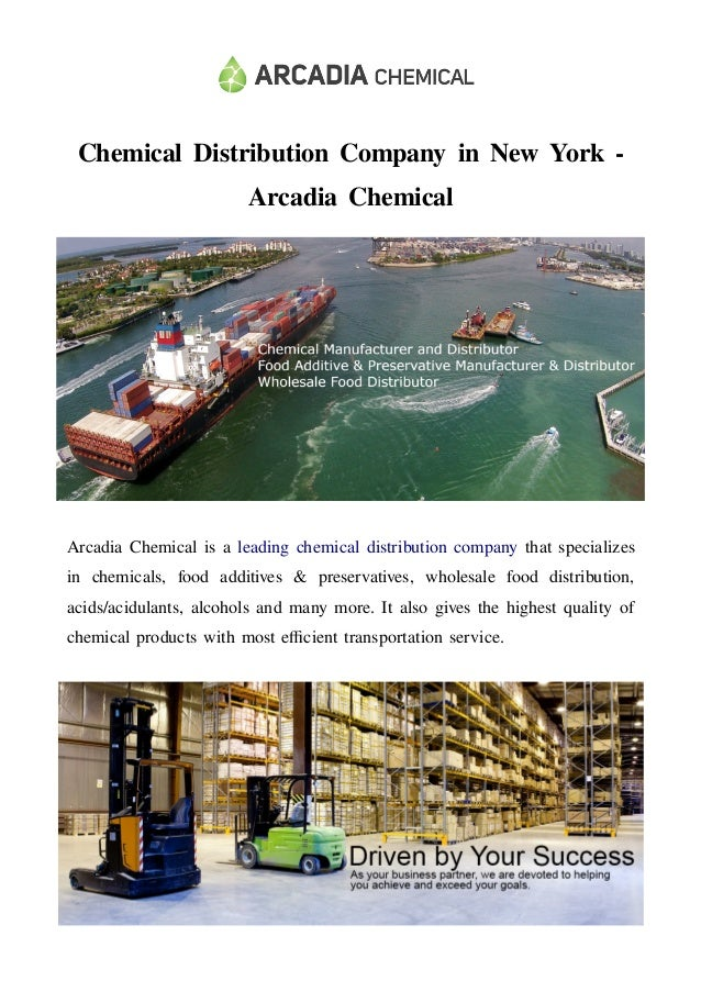 Chemical Distribution Company in New York - Arcadia Chemical