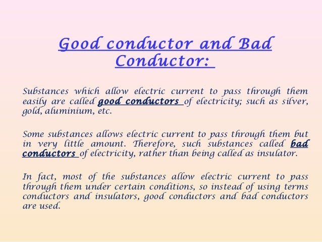Chemical effects of electric current
