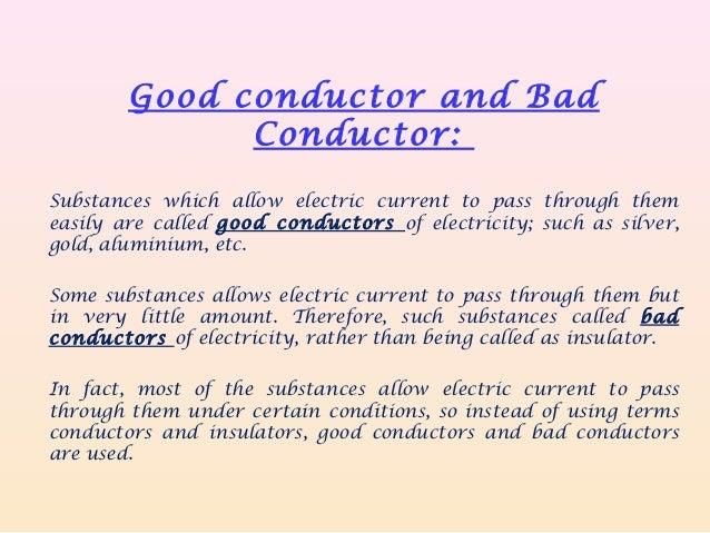 Conductors Of Electricity List : Conductors of electricity list pixshark images