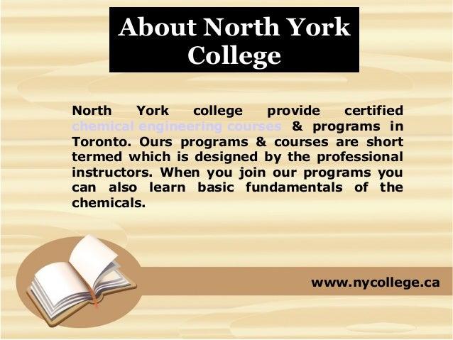 Chemical Engineering Courses & Programs Torornto