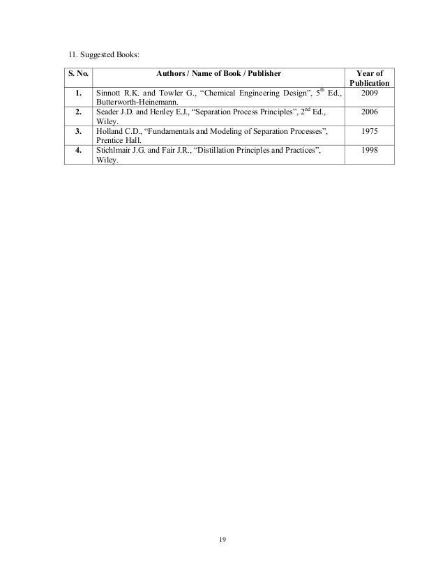 Seader separation process principles