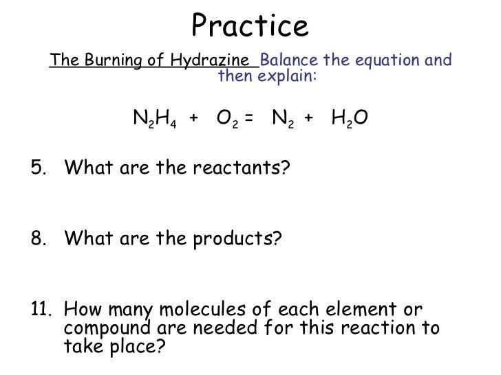Chemical Equation Balancer   Calculations