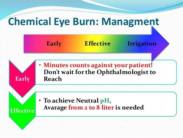 Chemical eye trauma, By Dr  Safaa Refaat