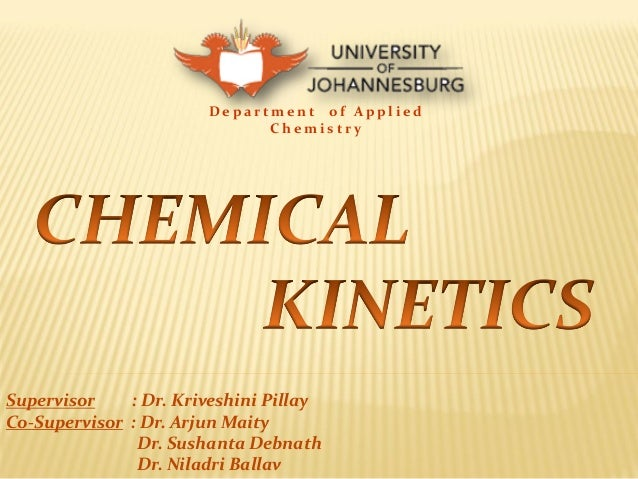 Chemical Kinetics Definition