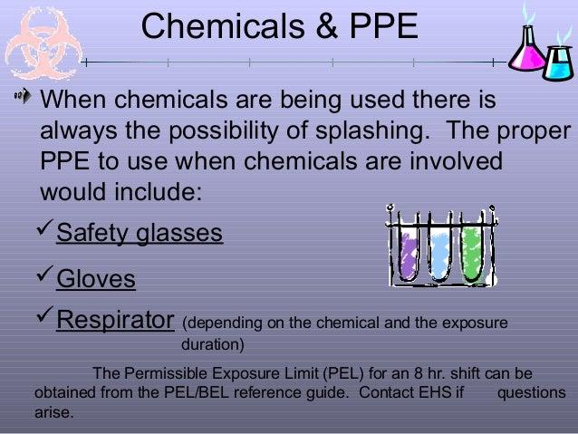 Chemical safety ppt presentation