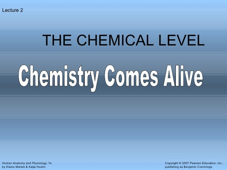 Chemical level