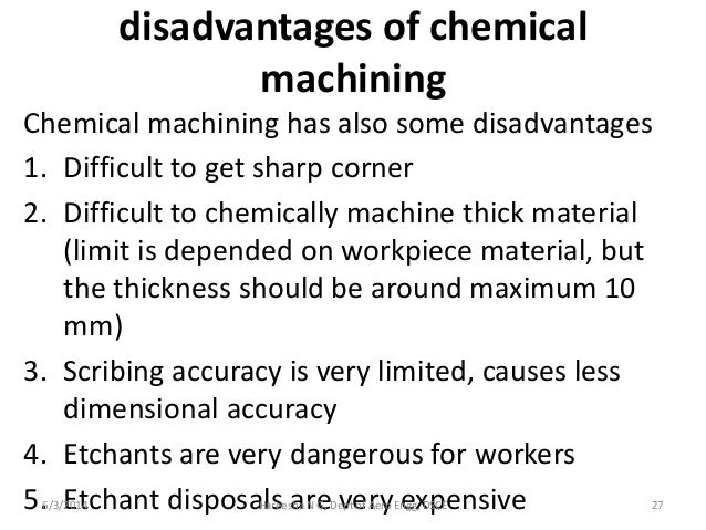 disadvantages of chemistry Chemistry provides several key advantages to the public and the fields of medicine by allowing for basic needs to be met and allowing for the production of medicines.
