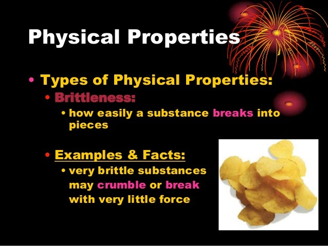 Chemical Amp Physical Properties Ppt