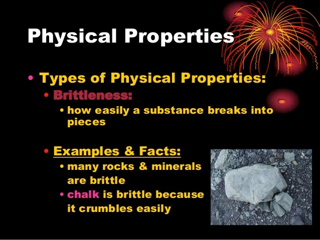 Is Brittleness A Chemical Property