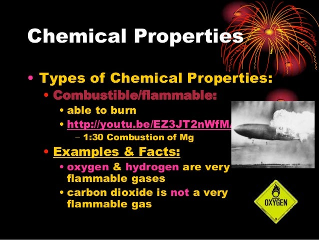 Chemical Physical Properties Ppt
