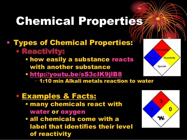 Chemical And Physical Properties And Changes Ppt