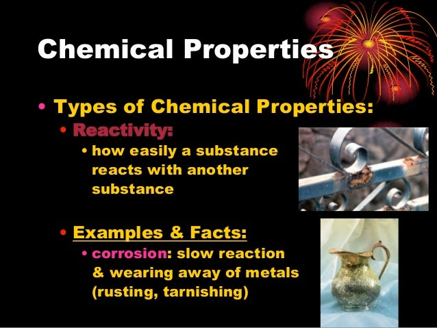 Chemical Properties Of Something